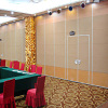 Sliding Track Aluminium Profile Movable Wood Partition Walls