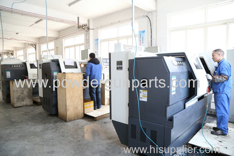 CNC equipment for powder coating spare parts