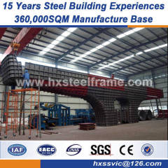 pre engineered warehouse heavy steel workshop strict quality monitoring