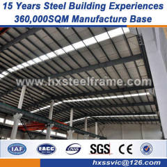 pre engineered workshop heavy steel workshop fast delivery