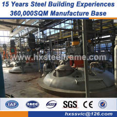 Pre-engineered Steel Structure Warehouse heavy steel workshop no deterioration