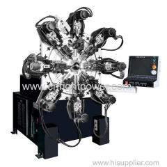 1.2-4.0 mm spring forming machine