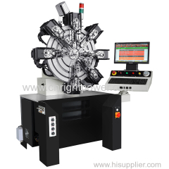 0.15mm-2.3mm camless spring forming machine