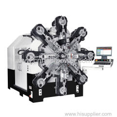 CAMLESS CNC MULTI-AXES SPRING FORMING MACHINE