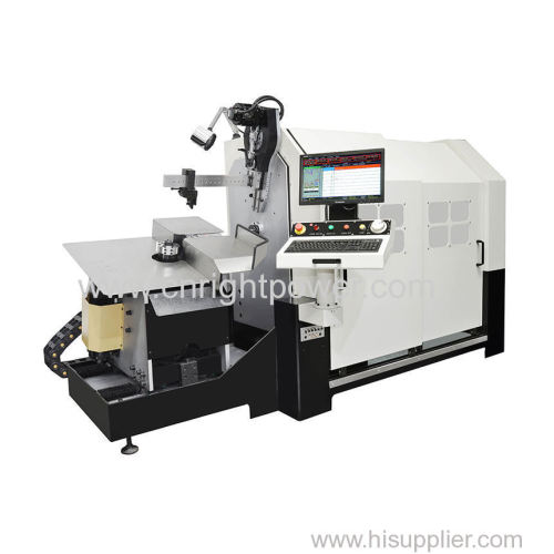 camless CNC multi-axes wire bender