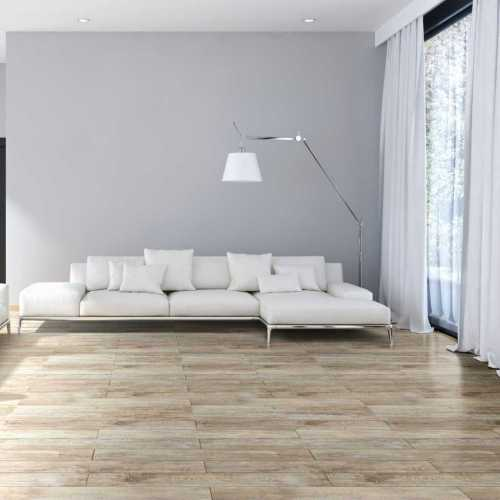 Grey Oak Wood Look 100% Virgin Residential & Commercial Luxury Vinyl Plank Flooring