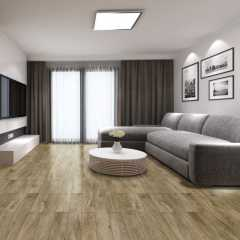Brown Grey Black and White Oak Wood Look PVC Luxury Vinyl Flooring