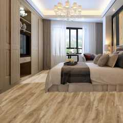 Luxury 100% Virgin 6mm Carb2 Waterproof Oak Wood Look WPC Vinyl Flooring