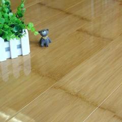Luxury AC3/AC4 Brown HDF 12mm Thickness Bamboo Laminate Flooring