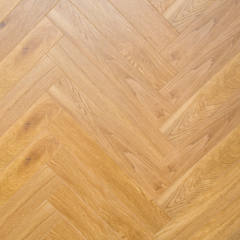 Herringbone Wood Grain Pattern Waterproof PVC Click WPC Flooring