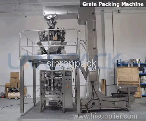 High Weighing Accuracy Automatic Small Dry Food Packing Machine