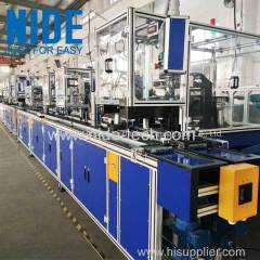 Full auto BLDC stator production assembly line
