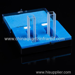 Micro-fluorescence cuvettes with lid