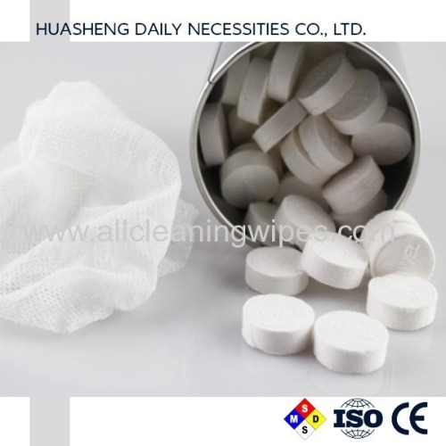 Compressed Towel Tablets Portable Mini Coin Tissue Disposable Cotton Towel