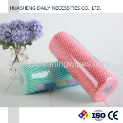 Nonwoven cleaning wipes viscose wipes