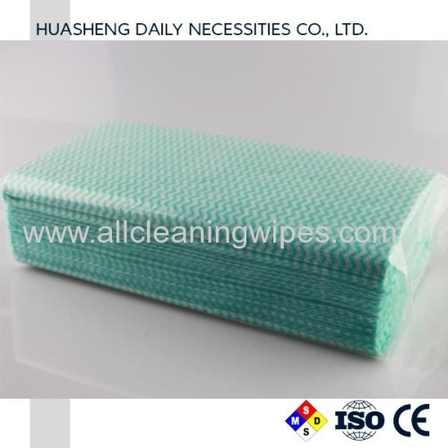 Spunlace Nonwoven Cleaning Wipe