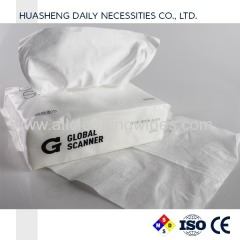 nonwoven face dry tissue