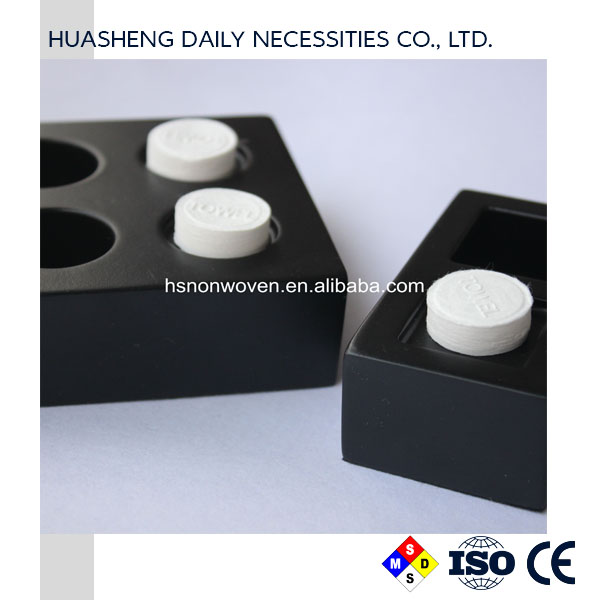 Compressed Towel Tablets Portable Mini Coin Tissue