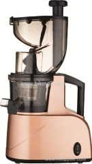 Personal electrric pink slow juicer with wide tube