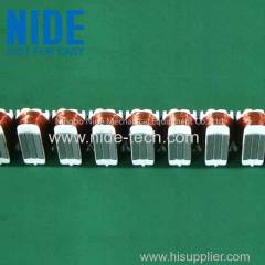 Full auto Straight bar stator winder coil winding machine