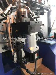 6.0mm big wire CNC camless spring forming machine with wire Rotary