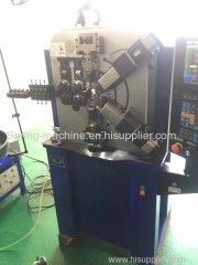 6 axis 2.0mm WNJ spring coiling machines for compression spring