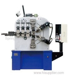 6 axis 6.0mm big wire professional compression spring making machine
