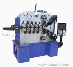 10mm 6 axis big wire WNJ spring making machine for professional compression spring