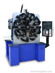 4.5mm wire forming machine with wire rotary with servo Sipnner