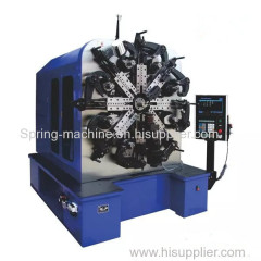 6.0mm big wire CNC spring forming machine with wire Rotary with servo spinner