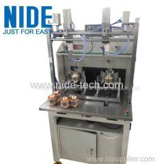 Brushless motor external armature winding machine
