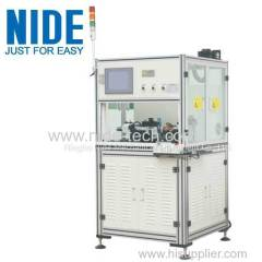 Single station Shaftless armature commtator Spot Welding Machine
