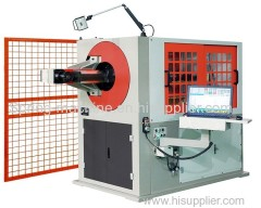 hard material 3.0-6.0mm and soft material:3.0-8.0mm wire bending machine