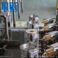 Four stations BLDC stator needle winding machine for brushless motor stator coil winding