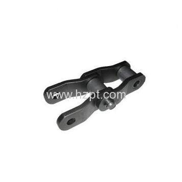 Narrow Series Welded Offset Sidebar Chain WHX124 WHX124(H) WHX132 For Heavy Duty Industry