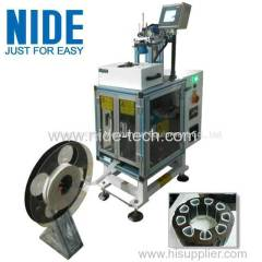 Full auto servo motor stator Insulation Paper Inserting machine for sale