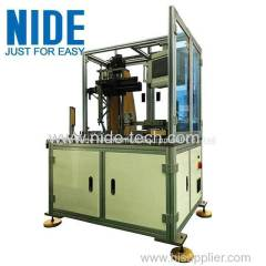 Full automatic single needle single station BLDC winding machine for 4 pole stator