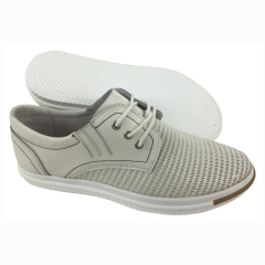 Women comfy leather casual shoes supplier