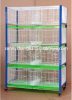 PVC coated 4 tiers 8 cells Pigeon Cages