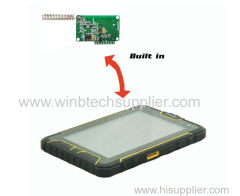 EX ATEX barcode RFID NFC Fingerprint scanning LF/HF/UHF RFID reader fingerprint identification) ip68 tablet tough