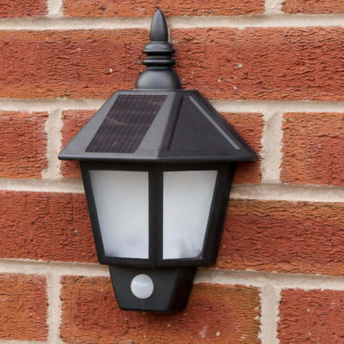 Solar Security Wall Light With Motion Sensor