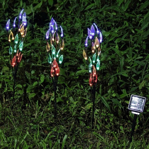 Solar Powered Garden Tree Shaped Stake Light