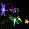 Dragonfly Solar Fairy Lights Colorful Changing