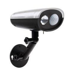 Wireless Outdoor Solar Wall Lights CCTV-like design