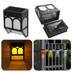 Patio use Solar Fence Lighting