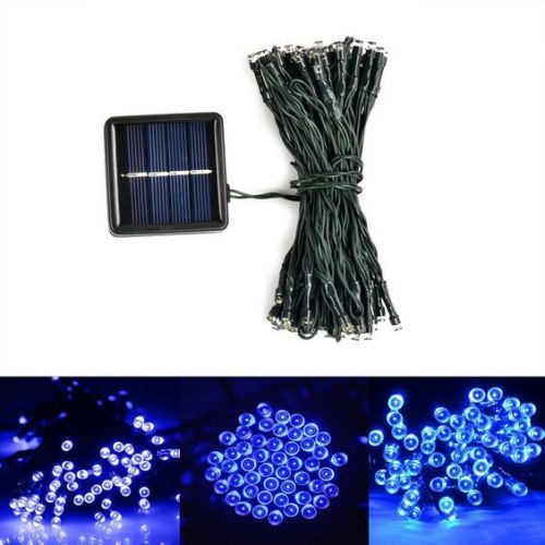 Solar Outdoor Christmas String Lights 100 LED