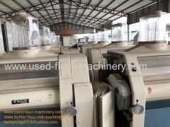 Swiss Buhler MDDK Rollermill Rollstands Flour Mill MDD Rolls