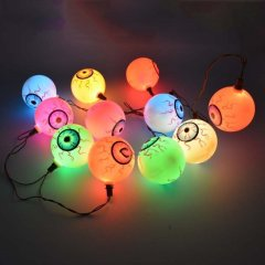 Halloween Decorative Solar Eyeball String Lightings