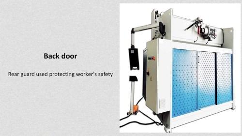 WC67 hydraulic press brake machine