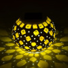 Solar Mosaic Night Table Light Outdoor Decoration Lamp
